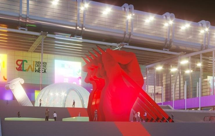 深圳国际家具展,设计周,家具展,交互世界,北广场